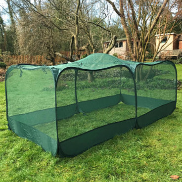 Fruit Cages - Pop Up Cages - GIANT Pop-Up Net Fruit Cage – 2m x 1m x 0.75m High
