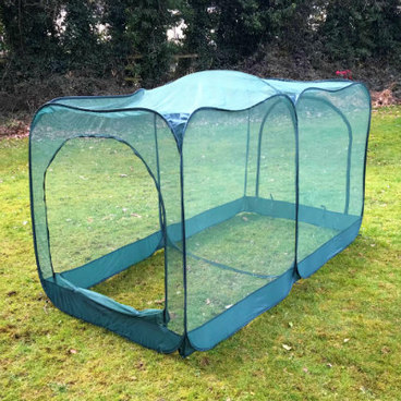 Fruit Cages - Pop Up Fruit Cages – GIANT Pop-Up Net Fruit Cage – 2.5m x 1.25m x 1.35m High