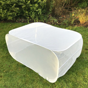 Fruit Cages - Pop Up Cages – Insect Net Cages - Pop-Up Insect Net Grow Bag Crop Cage – 1.1m L x 0.45m W x 0.55m H