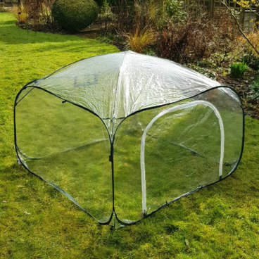 Fruit Cages - Pop Up Cages – Poly Cages - Pop-Up Poly Cage – 1m x 1m x 0.75m high