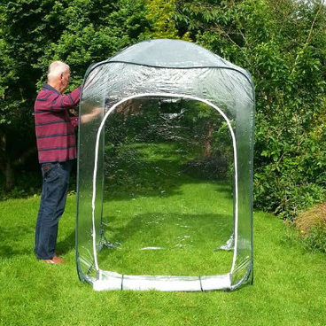 Fruit Cages - Pop Up Fruit Cages – Pop-Up Poly Cage – 1.25m x 1.25m x 1.85m high