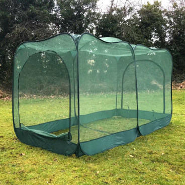 Fruit Cages - Pop Up Fruit Cages – GIANT Pop-Up Net Fruit Cage – 2m x 1m x 1.35m High