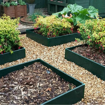 Raised Beds – 250mm High Raised Beds - Build-a-Bed Raised Bed - 250mm High (Various Sizes)