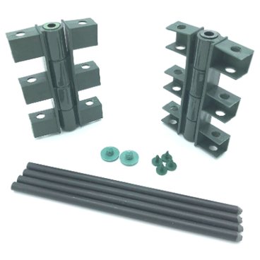 Raised Beds – Raised Bed Components - Hinge Kit for 150mm high Raised Beds (pk of 2)