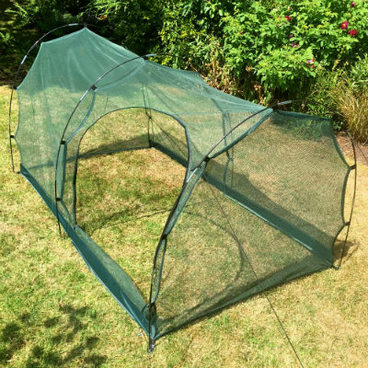 Cloches & Tunnels – Grow Tunnels – Pro-Gro Net Tunnel Cloche – 2m long x 1m wide x 1m high