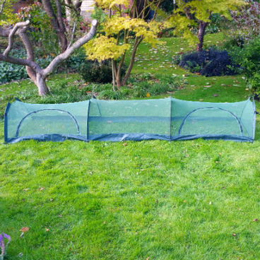 Cloches & Tunnels – Grow Tunnels – Net Grow Tunnels - Pro-Gro Net Tunnel Cloche – 3m long x 0.5m wide x 0.75m high