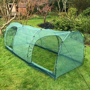 Cloches & Tunnels – Grow Tunnels – Pro-Gro Net Tunnel Cloche – 3m long x 1m wide x 1m high
