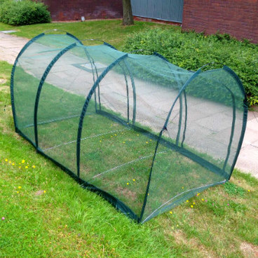 Cloches & Tunnels – Grow Tunnels – Net Grow Tunnels - Pro-Gro Net Tunnel Cloche – 3m long x 1.5m wide x 1.5m high