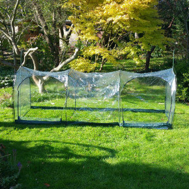 Cloches & Tunnels – Grow Tunnels – Pro-Gro Poly Tunnel – 3m long x 1m wide x 1m high