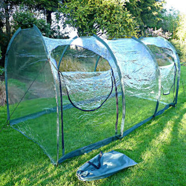 Cloches & Tunnels – Grow Tunnels – Pro-Gro Poly Tunnel – 3m long x 1.5m wide x 1.5m high