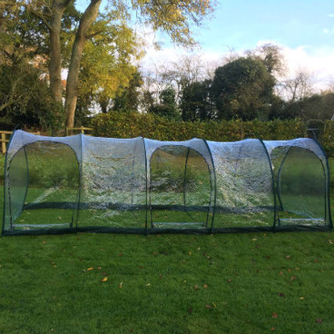 Cloches & Tunnels – Grow Tunnels – Pro-Gro Poly Tunnel – 5m long x 1m wide x 1m high