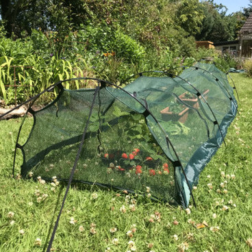 Cloches & Tunnels – Grow Tunnels – Pro-Gro Net Tunnel Cloche – 3m long x 0.5m wide x 0.75m high