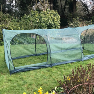Cloches & Tunnels – Grow Tunnels – Pro-Gro Net Tunnel Cloche – 5m long x 1m wide x 1m high