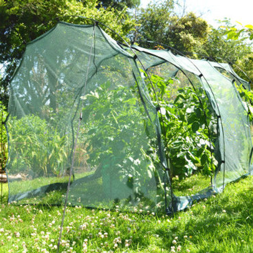 Cloches & Tunnels – Grow Tunnels – Pro-Gro Net Tunnel Cloche – 3m long x 1.5m wide x 1.5m high