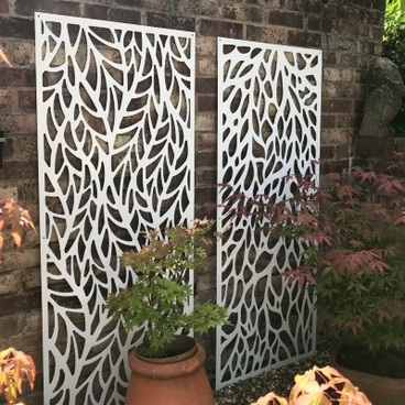 Garden Decor - Decorative Garden Metal Screen & Privacy Fence - 150cm x 60cm