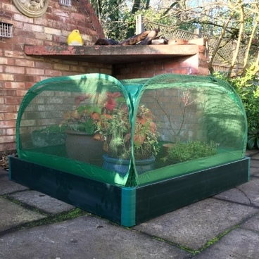 Christmas Gifts - Allotmenteer Raised Bed & Fruit Cage Combi Kit - Small