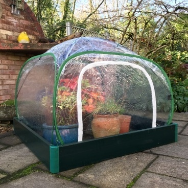 Christmas Gifts - Allotmenteer Raised Bed & Greenhouse Combi Kit - Small