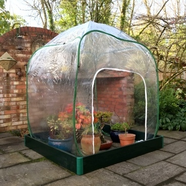 Christmas Gifts - Allotmenteer Raised Bed & Greenhouse Combi Kit - Medium