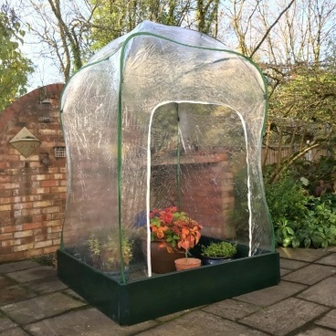 Christmas Gifts - Allotmenteer Raised Bed & Greenhouse Combi Kit - Large