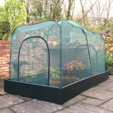 Christmas Gifts - Allotmenteer Raised Bed & Fruit Cage Combi Kit - Pro