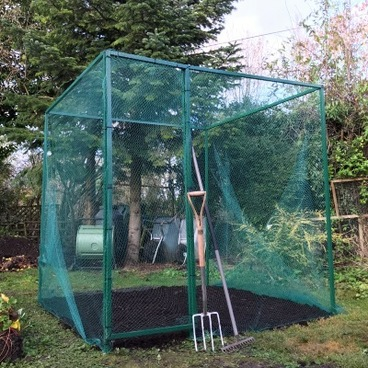 Walk In Fruit Cages – Walk in Fruit Cage (with door) – 2m x 2m x 2m high